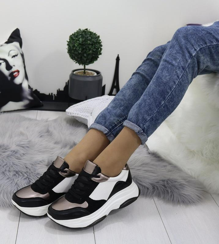 Новые шикарные женские кроссовки - Фото 6