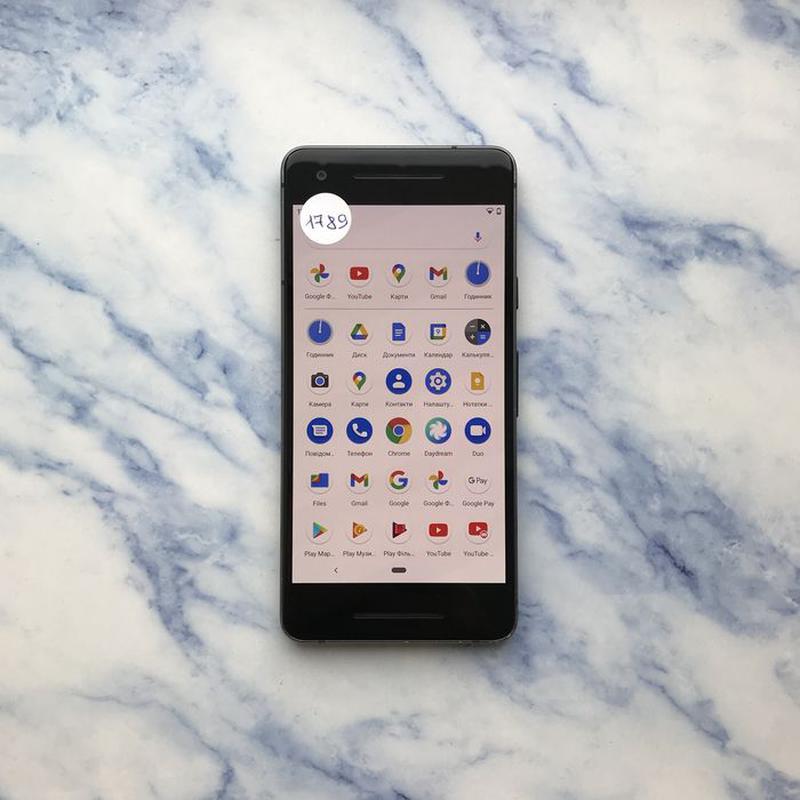 Google Pixel 2 64 Gb Just Black Оригінал (#1789) - Фото 7