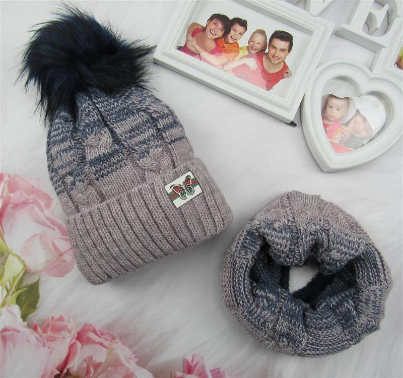 Комплект шапка +хомут