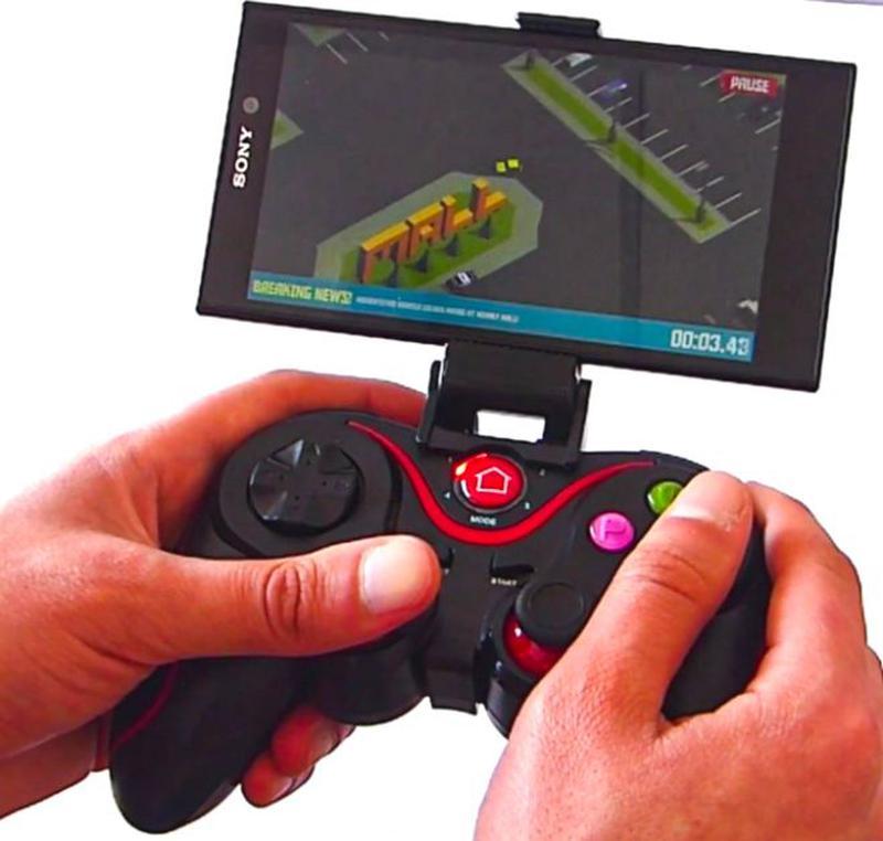 Беспроводной Bluetooth джойстик геймпад для телефона смартфон ...