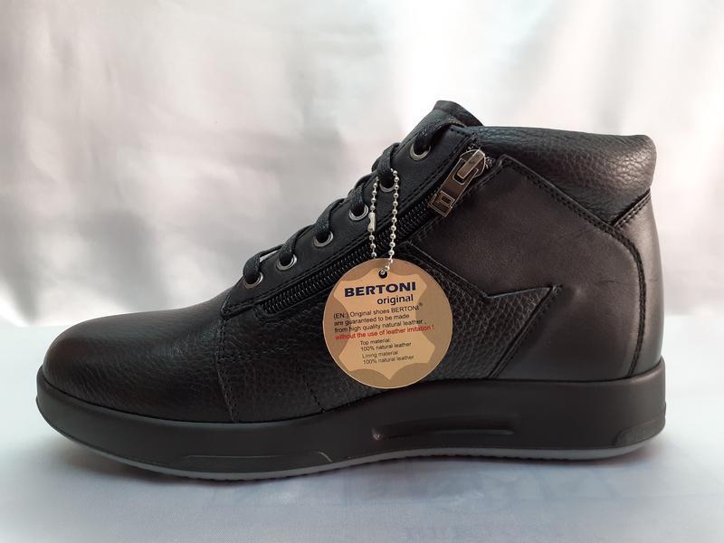 Скидка!зимние ботинки под кроссовки bertoni