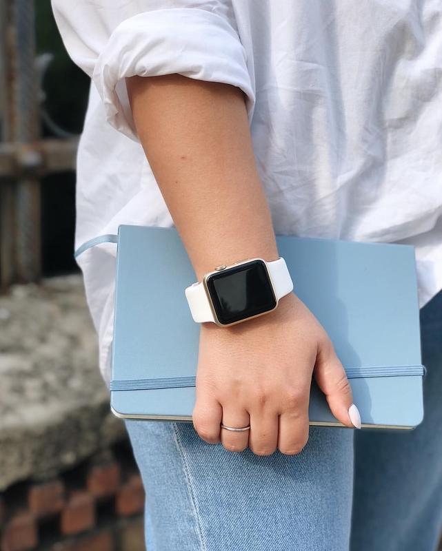 Ремінець для годинника для apple watch sport band силіконовий - Фото 2