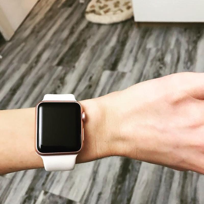 Ремінець для годинника для apple watch sport band силіконовий - Фото 6