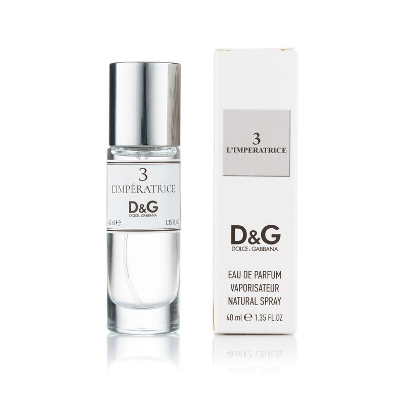 Женский мини парфюм Dolce & Gabbana 3 L`Imperatrice - 40 мл (