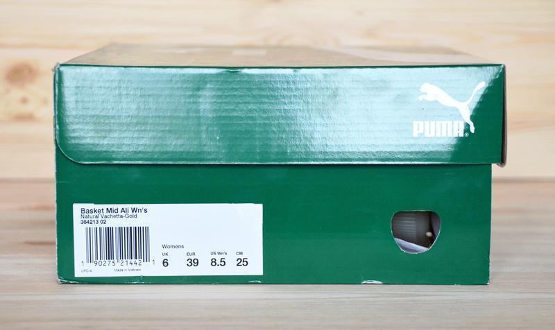 Кроссовки puma basket mid ali оригинал новые в коробке - Фото 8