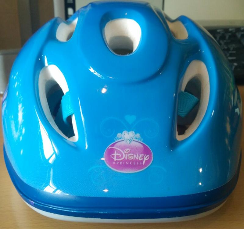 Шлем детский disney для самоката, велосипеда, роликов.