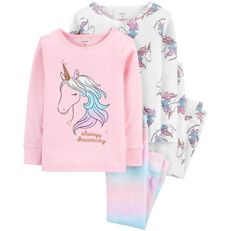 Трикотажная пижама для девочки carter's 1 шт.