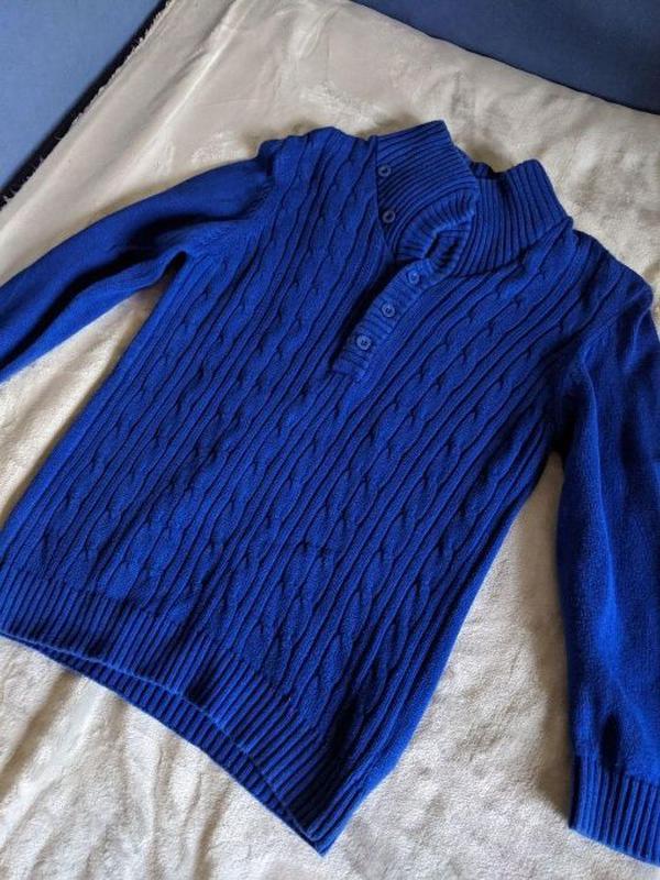 Детский синий свитер Blue Zoo 9-10 лет