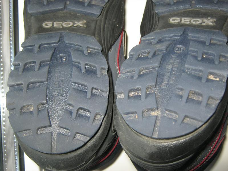 Демисезонные ботиночки geox - Фото 9