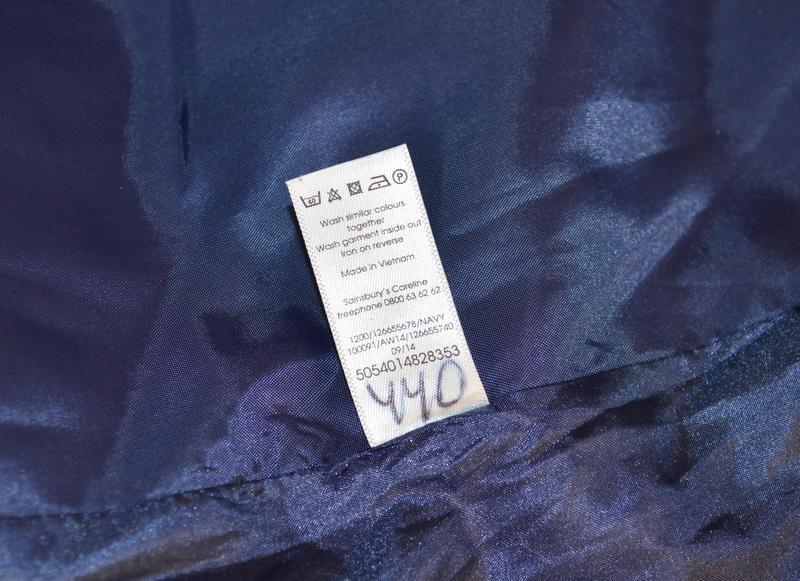 Брендовое демисезонное легкое пальто в клетку с карманами tu в... - Фото 6