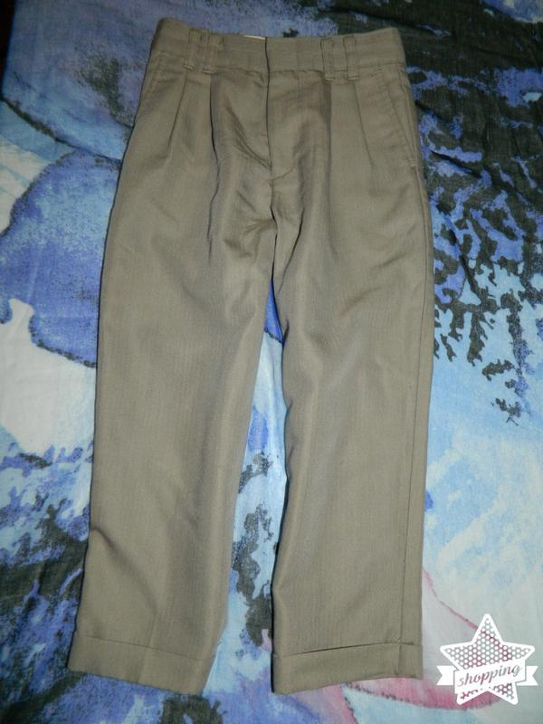 Штаны брюки бежевые детские на мальчика 5 лет george