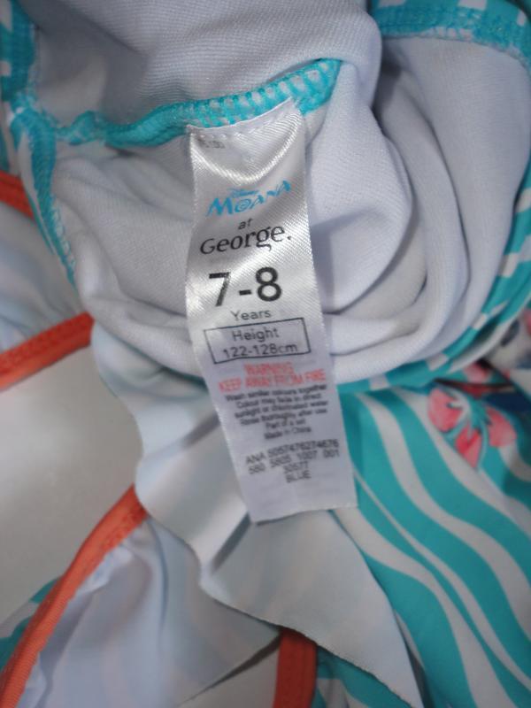 Сдельный купальник 7-8 лет моана disney - Фото 3