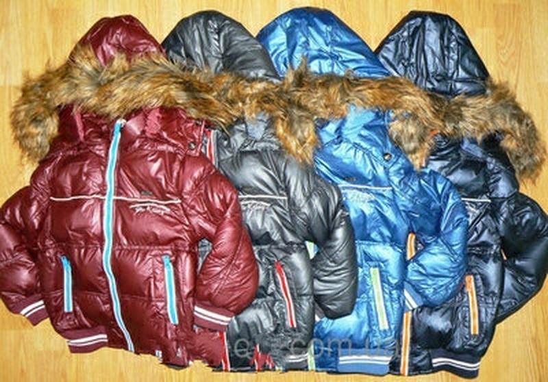 Теплая зимняя курточка куртка для мальчика. еврозима