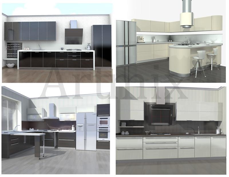 Кухни.Проектирование.Дизайн.3D ВИЗУАЛИЗАЦИЯ.