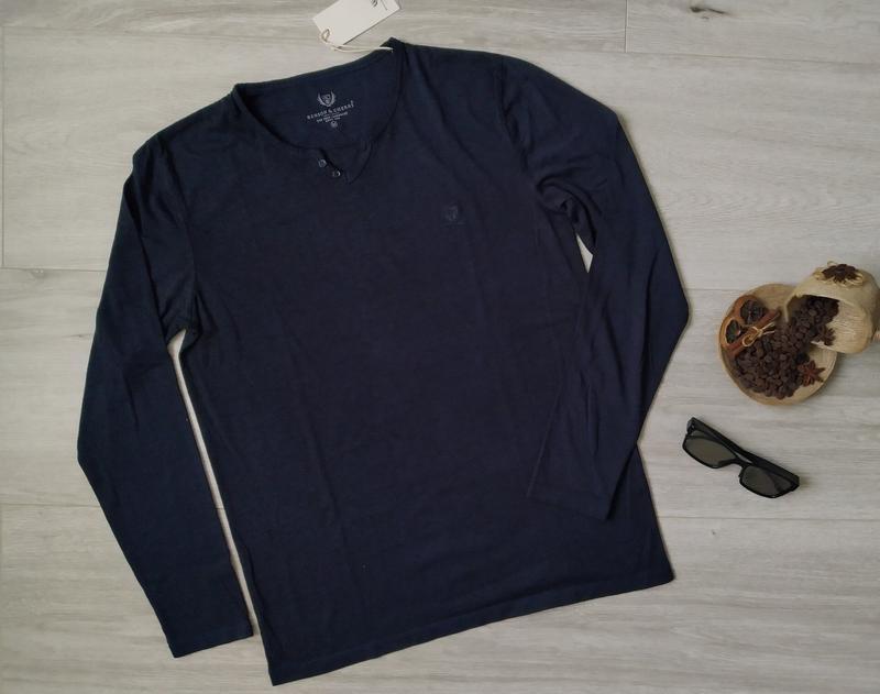 Мужской лонгслив, футболка с длинным рукавом, кофта benson & c...