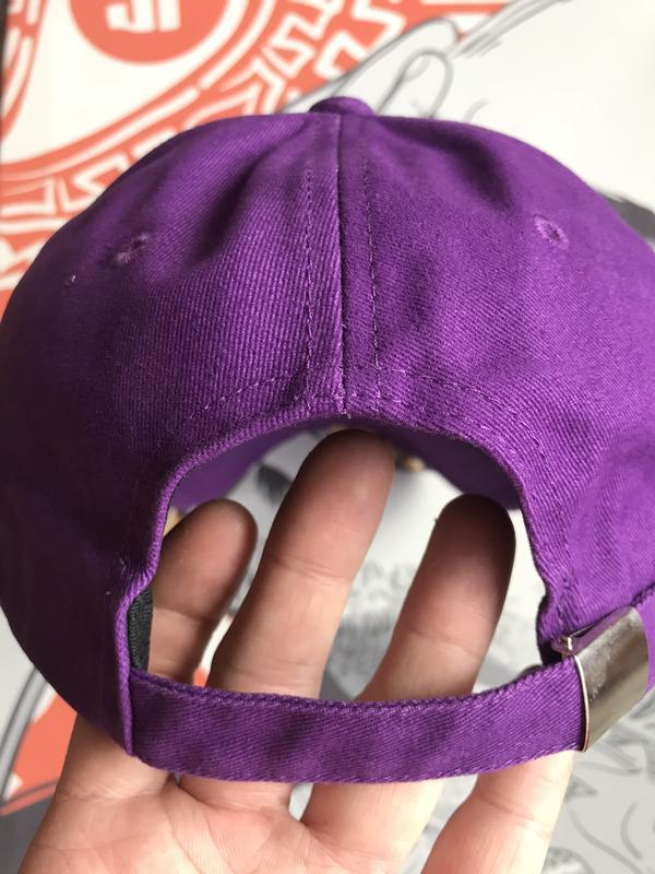 Кепка бейсболка фиолетовая яркая плотная распродажа - Фото 3