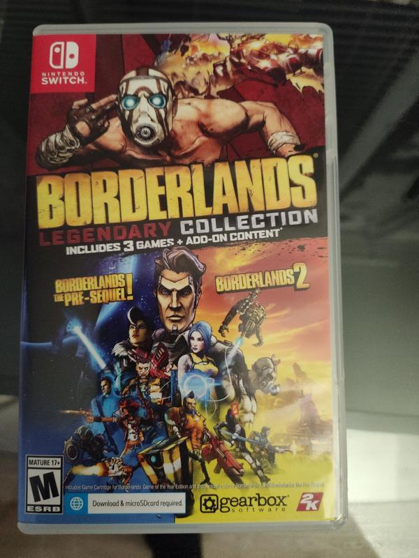 Borderlands для nintendo switch