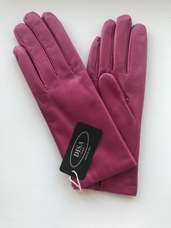 Перчатки кожаные зимние Итальянские Disa