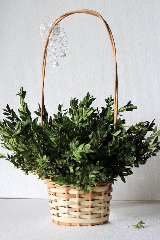 Плетеная декорапивная корзна, кашпо для цветов и подарков