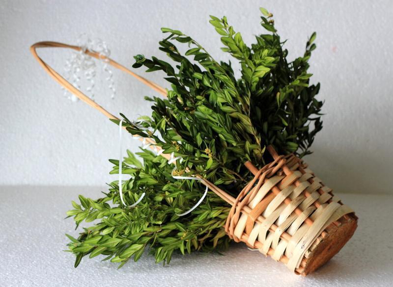 Плетеная декорапивная корзна, кашпо для цветов и подарков - Фото 6