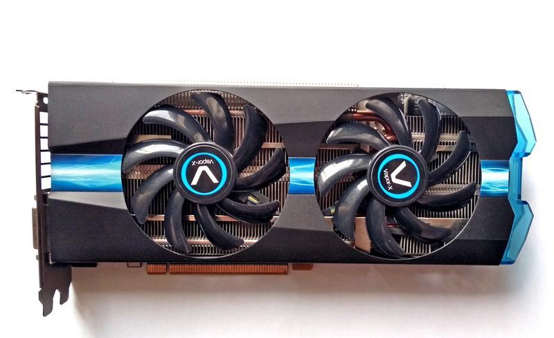 Sapphire AMD Radeon R7 370 4GB Vapor-X OC / 256bit / GDDR5