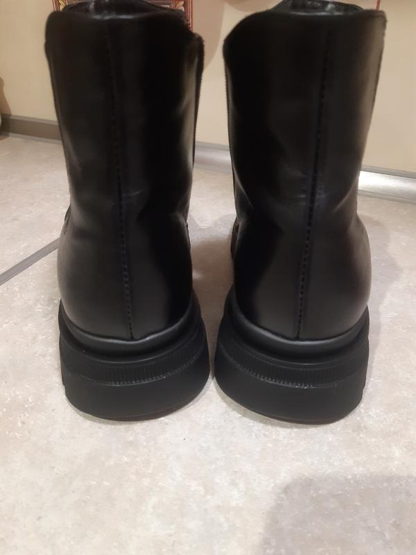Ботинки натуральная кожа и мех - Фото 3
