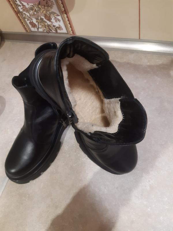 Ботинки натуральная кожа и мех - Фото 5