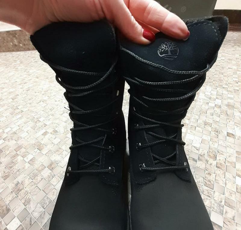 Ботинки зима нубук - Фото 6