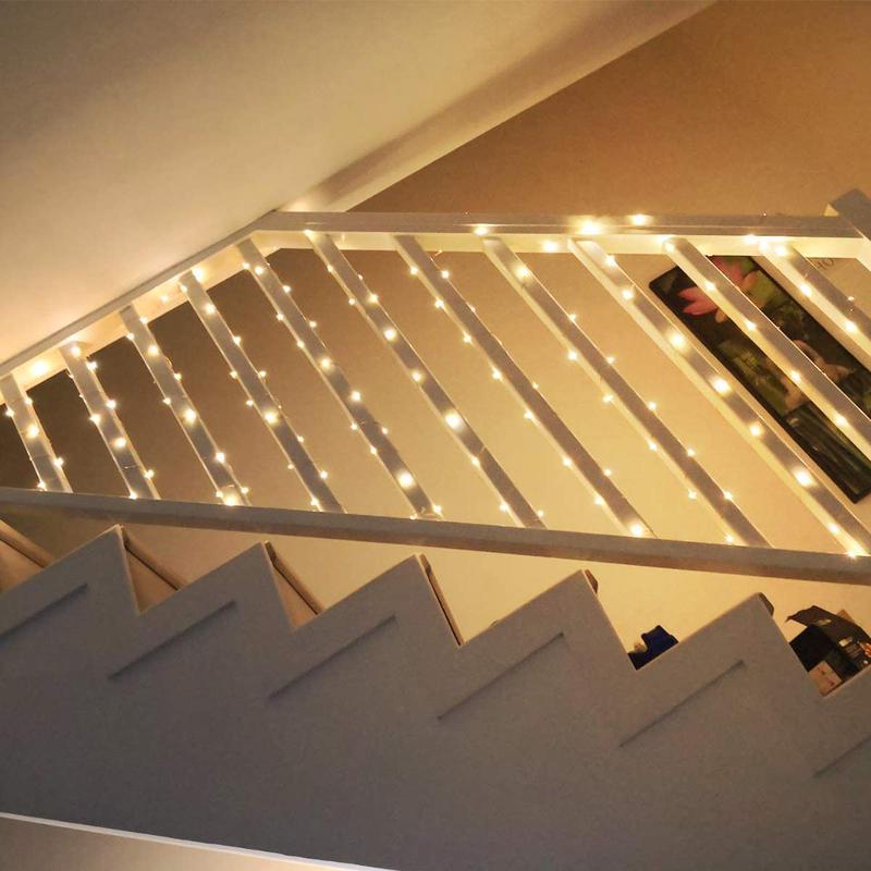 Світлодіодна гірлянда нитка - гірлянди типу «Роса» 20M 200 LED - Фото 7
