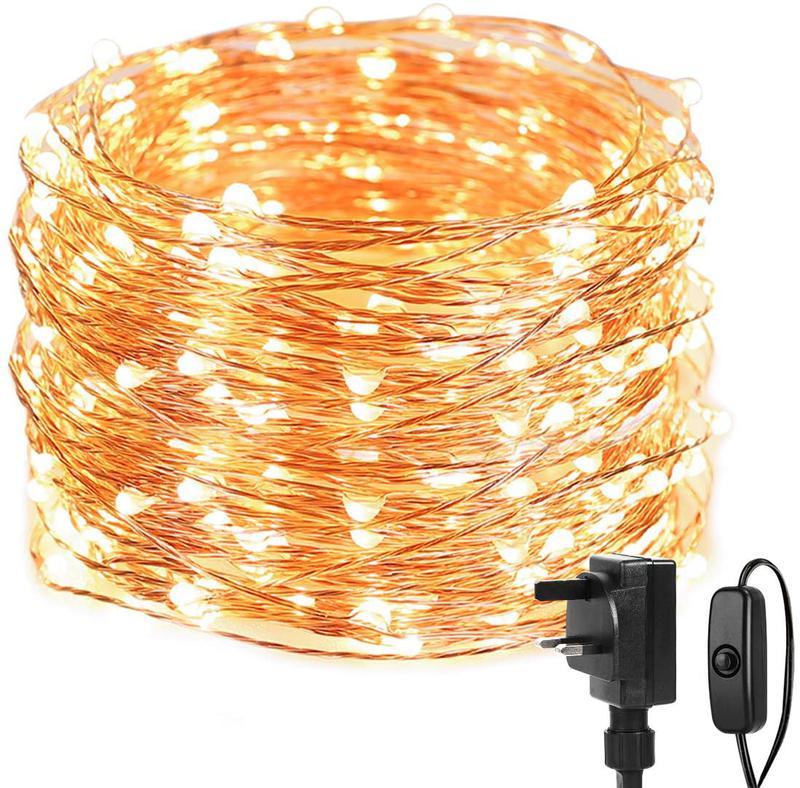 Світлодіодна гірлянда нитка - гірлянди типу «Роса» 20M 200 LED - Фото 8