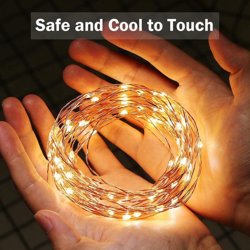 Світлодіодна гірлянда нитка - гірлянди типу «Роса» 20M 200 LED - Фото 2
