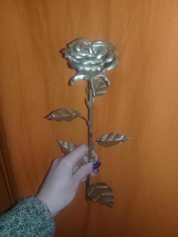 Металлические розы - Фото 3