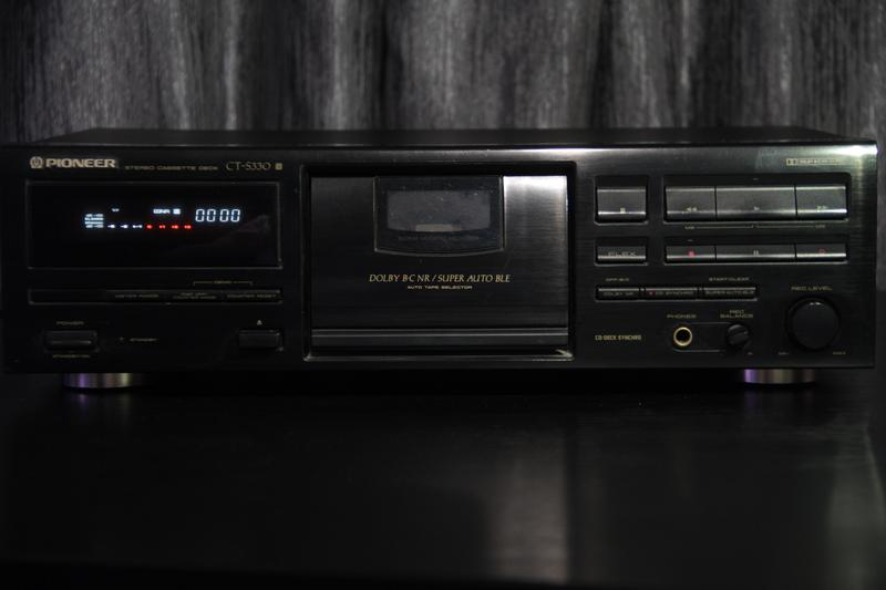 Pioneer CT-S330 stereo casette deck
