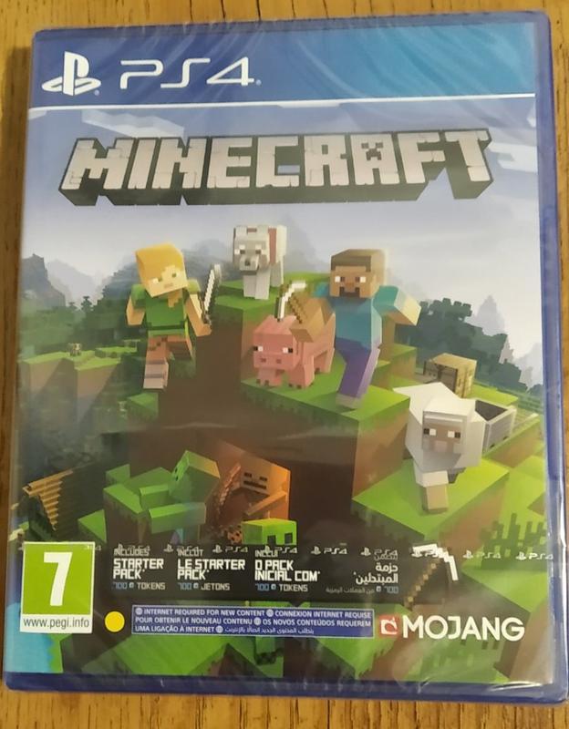 Игра Minecraft Bedrock Edition (PS4) - CUSA 17908 (рус. суб)