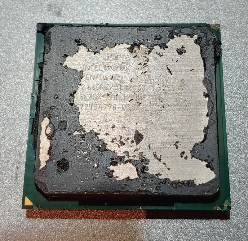 Процессор Intel Pentium 4 2.66GHz 512Kb 533MHz на сокет 478
