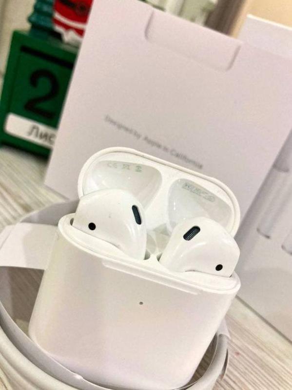 Наушники Apple Airpods 2! 100% ОРИГИНАЛ! Наложеный платёж. Пиш... - Фото 2