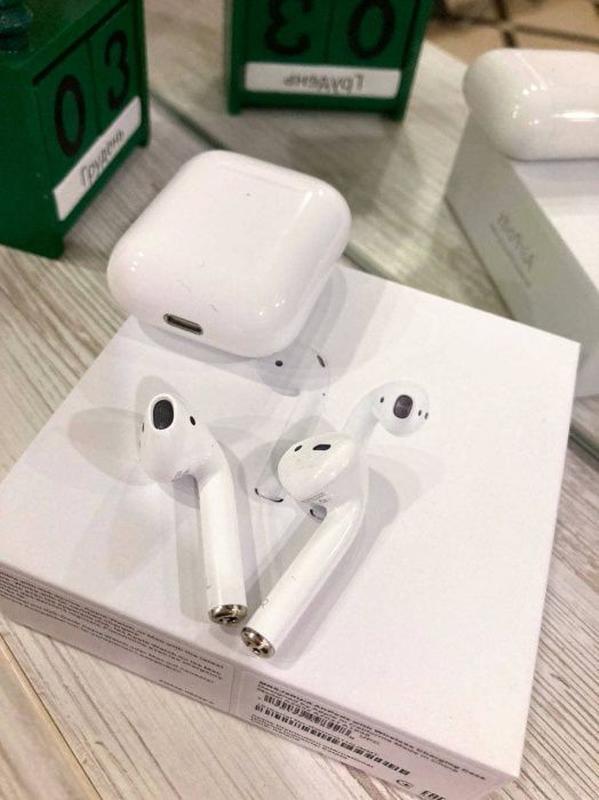 Наушники Apple Airpods 2! 100% ОРИГИНАЛ! Наложеный платёж. Пиш... - Фото 4