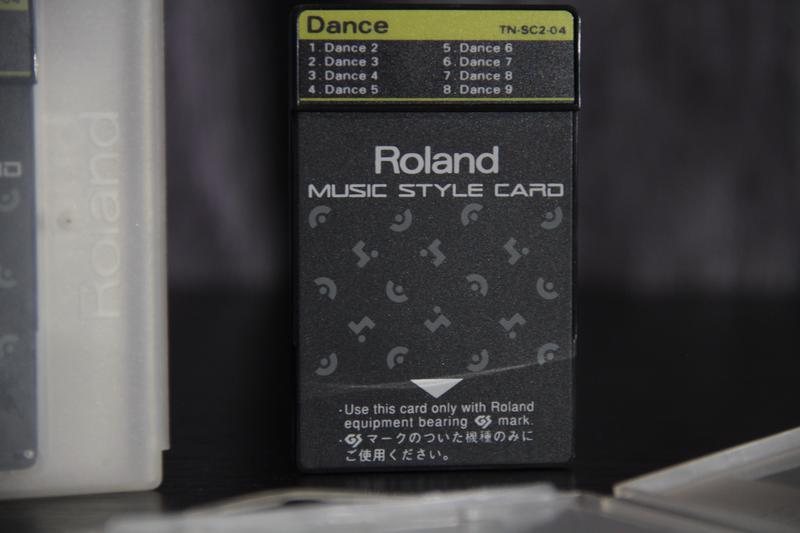 MUSIC STYLE CARD Roland TN-SC2-04 (Dance)