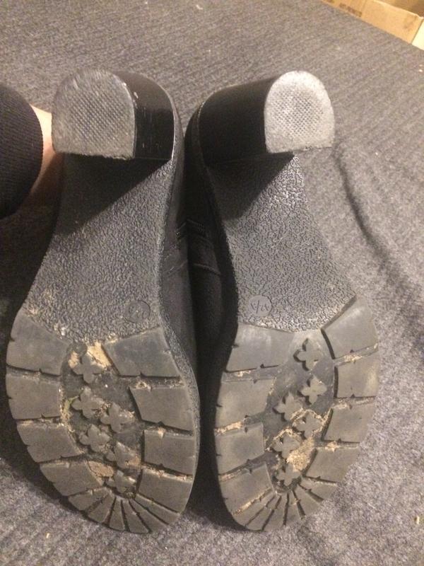 New look замшевые ботинки полусапожки - Фото 5