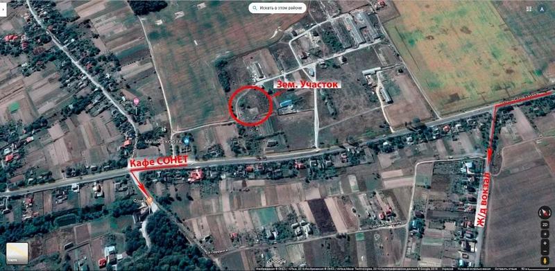 Продам земельный участок в Ст.Кривин (на въезде в г. Нетешин)