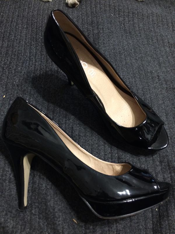 Aldo туфли босоножки лаковые