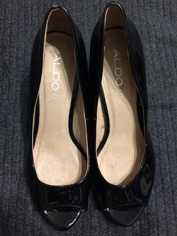 Aldo туфли босоножки лаковые - Фото 2