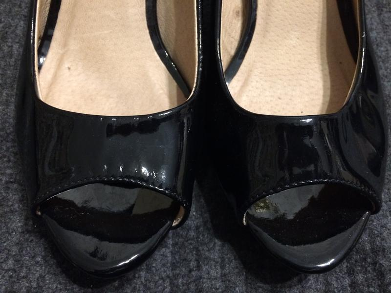 Aldo туфли босоножки лаковые - Фото 4