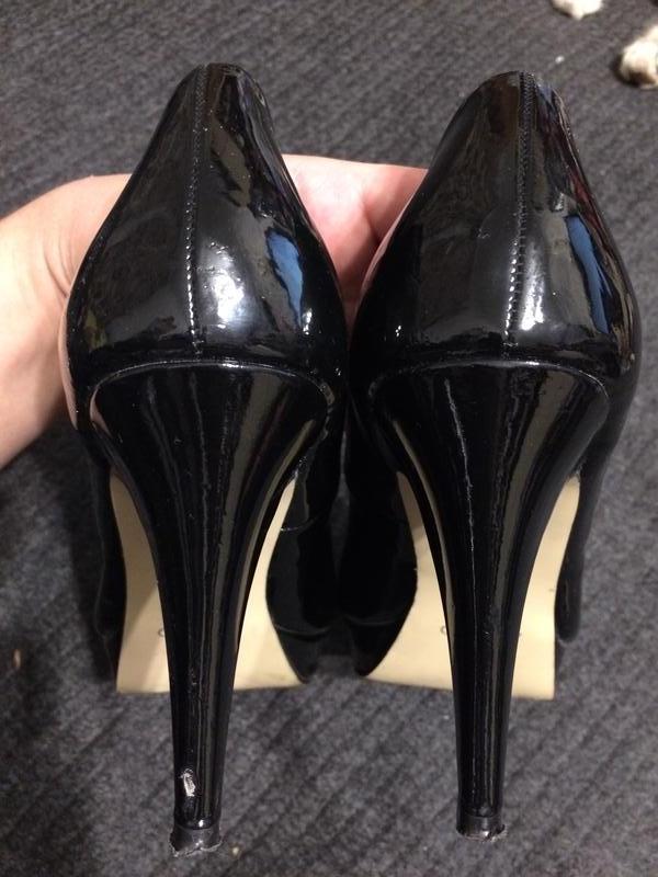 Aldo туфли босоножки лаковые - Фото 5