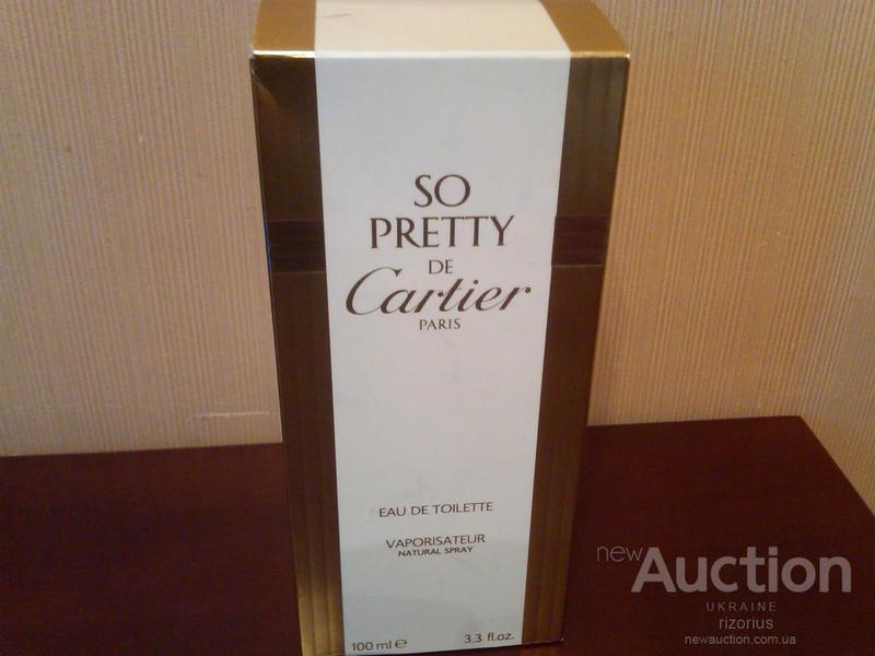 So Pretty de Cartier Eau de toilette 100 мл Туалетная вода духи