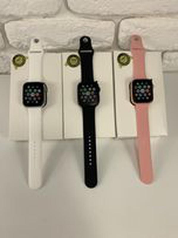 Смарт часы iwo 13. 1 в 1 Apple Watch 44 мм Smart Watch t900 Умные - Фото 2