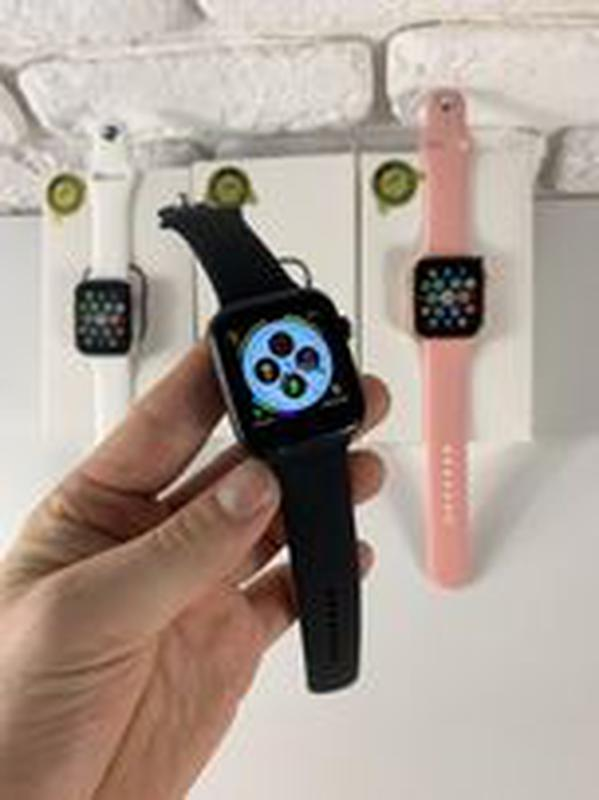 Смарт часы iwo 13. 1 в 1 Apple Watch 44 мм Smart Watch t900 Умные - Фото 4