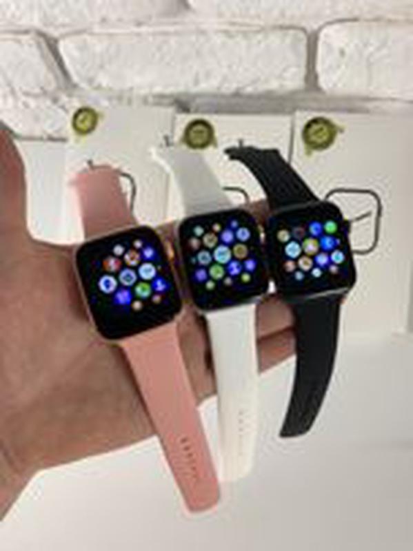 Смарт часы iwo 13. 1 в 1 Apple Watch 44 мм Smart Watch t900 Умные - Фото 5