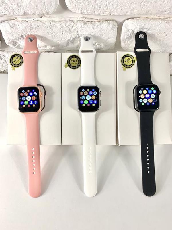 Смарт часы iwo 13. 1 в 1 Apple Watch 44 мм Smart Watch t900 Умные