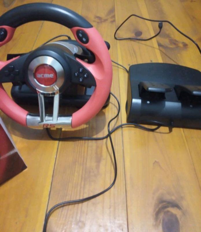 Игровой руль acme rs racing wheel - Фото 4